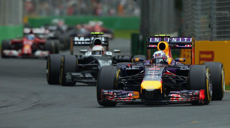 """Даниэль Риккьярдо на пути к своему первому подиуму в """"Формуле-1"""""""