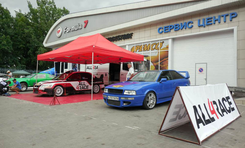 Принимает команда участие и в различных автомобильных мероприятиях и шоу